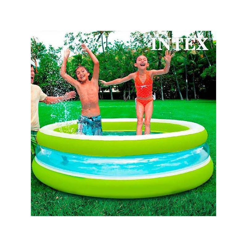 Inflatable Pool For Children Intex (Ø 203 Cm)