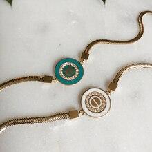 Altın kadın bileklik altın takı göz 8k 8 ayar tasarım moda trend takılar gülşah sezer