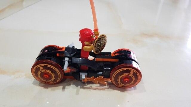 4 Types Ninja Motor Motorbike Model Figures Building Blocks Kids Toys Bricks Gift for Children Boys photo review