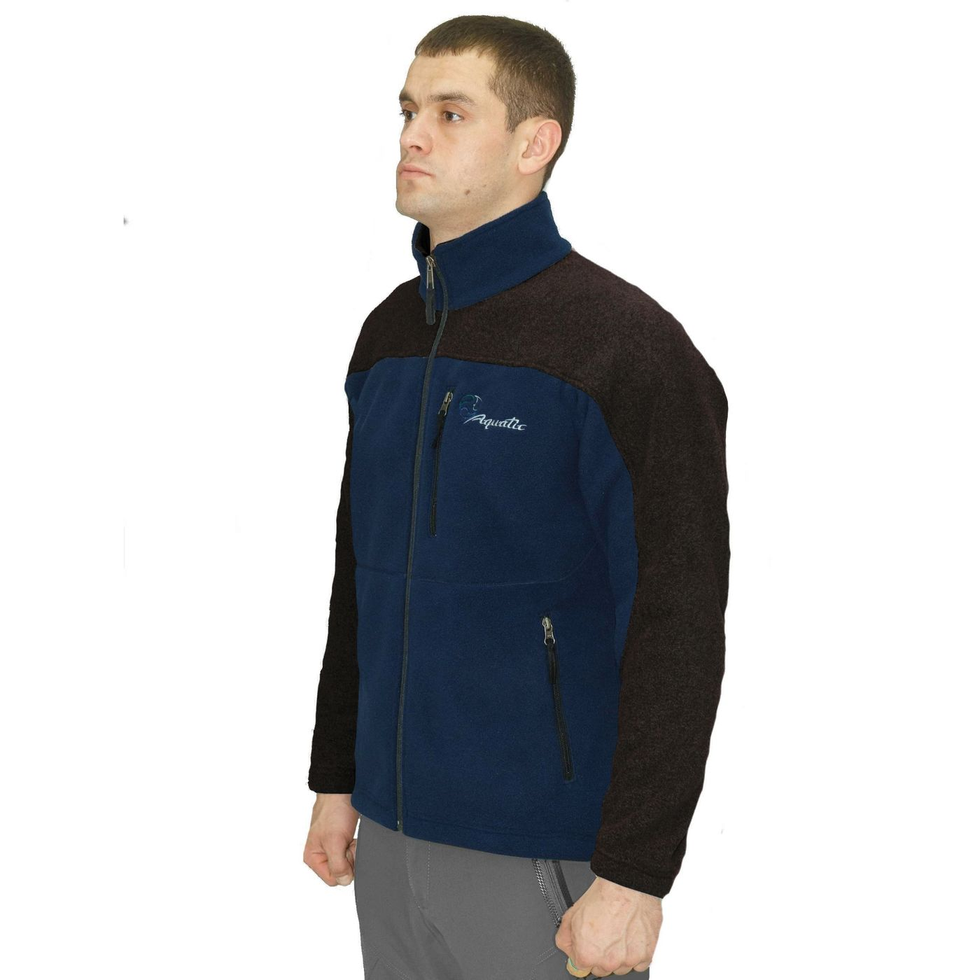 Fleece Jacket Aquatic Kf-03 Tsk Kf-03 Tsk M