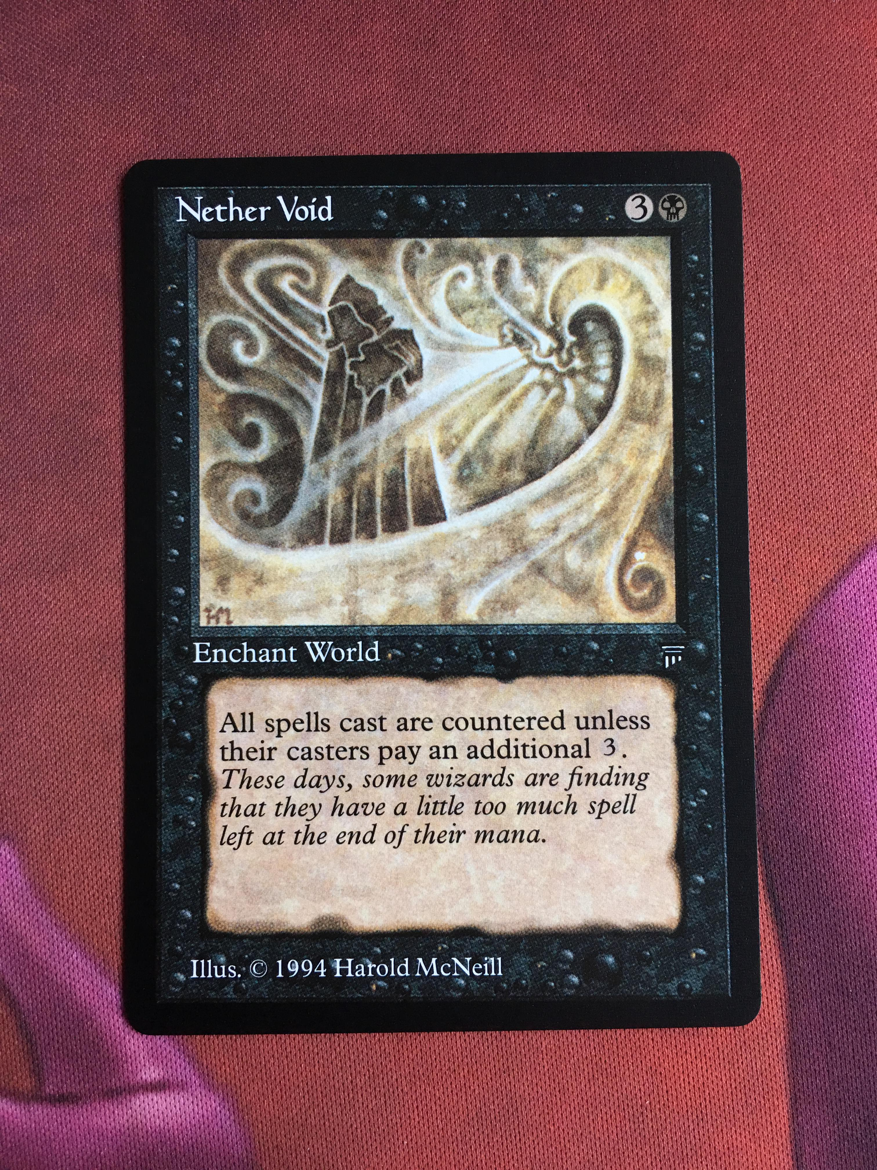 Nether Void Legends Magician ProxyKing 8.0 VIP The Proxy Cards To Gathering Every Single Mg Card.