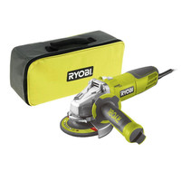 Ryobi RAG1010125SF 1010 Watt 125 mm Angle Grinder Wheel Machine. Metal, Stone, brick cutting and drilling, grinding machine