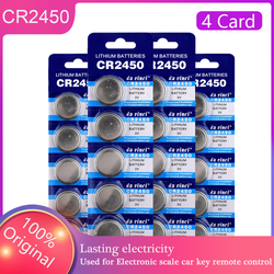 20pcs 100% Original Brand New Button Battery CR2450 3V Button Cell Coin Batteries for Calculators Computer KCR2450 5029LC LM2450