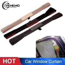 Vehemo автомобильный выдвижной боковой оконный занавес солнцезащитный штора