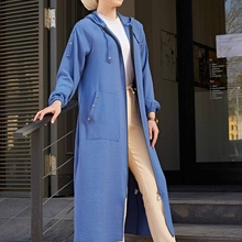 Dress Marocain-Dresses Hijab Abaya Kaftan Dubai Islam Muslim Women Turkey Tricot-Tunic