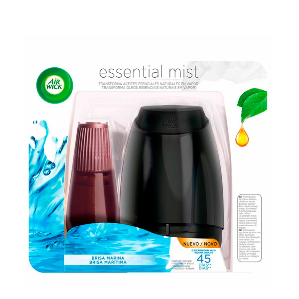 Air Wick Essential Mist Ocean Breeze Air Freshener|  - title=
