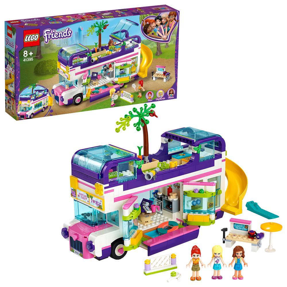 LEGO Friends Bus de la Amistad Juguete de Construcción con Piscina y Tobogán Para Niños y Niñas (41395)| | - AliExpress
