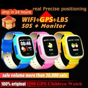 Q90 GPS Children kids Smart Wa