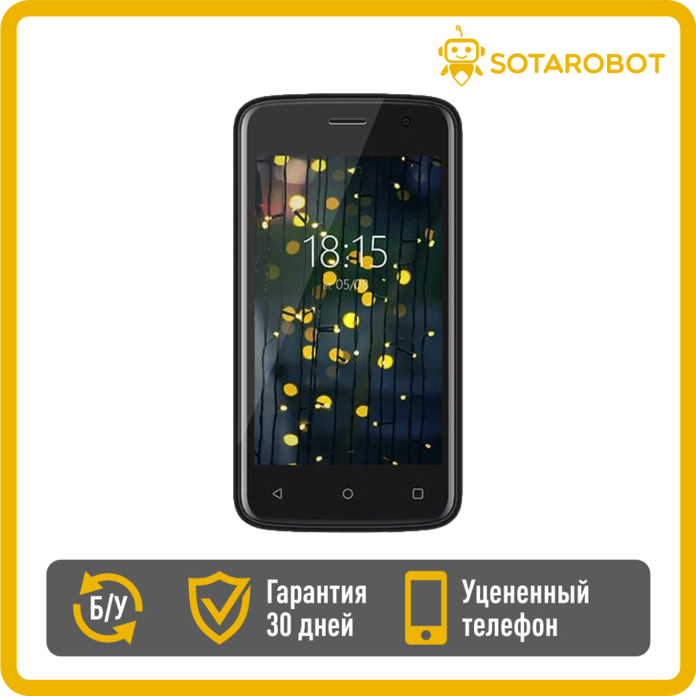 Смартфон BQ 4001G Cool, уцененный телефон, б/у телефон