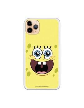 Funda para iPhone 11 Pro Max Oficial de Nickelodeon Bob Alegre -...
