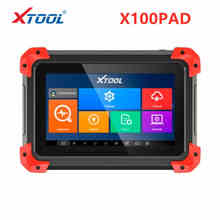 Newest OBD2 XTOOL X100 PAD X 100 Auto Car Key Programmer With Oil Rest Tool And Odometer Adjustment