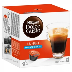 Cafe Lungo decaffeinated, Dolce Gusto 16 units