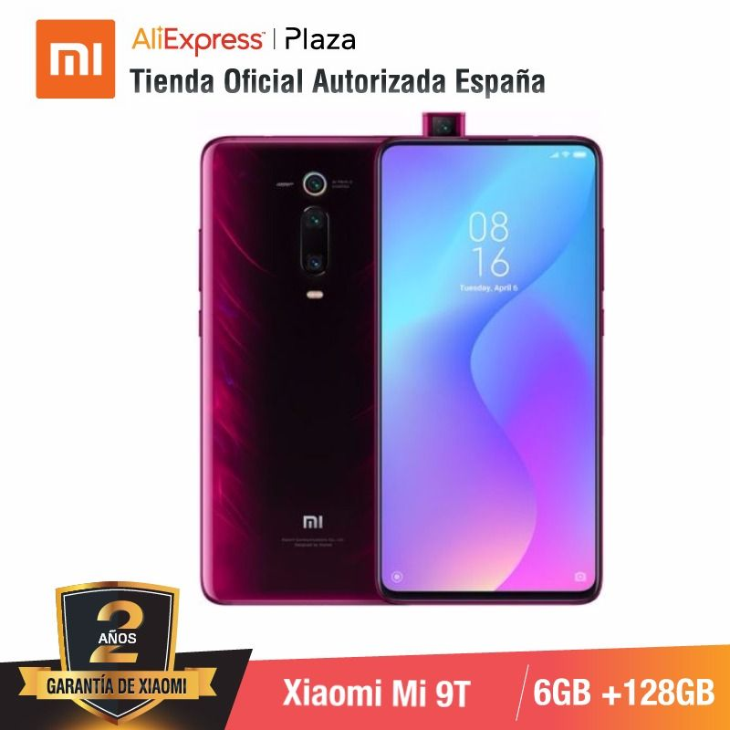 [Global Version For Spain] Xiaomi Mi 9T (Memoria Interna De 128GB, RAM De 6GB, Triple Cámara De 48 MP)smartphone
