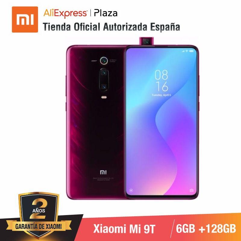 [Global Version for Spain] Xiaomi Mi 9T (Memoria interna de 128GB, RAM de 6GB, Triple cámara de 48 MP)smartphone