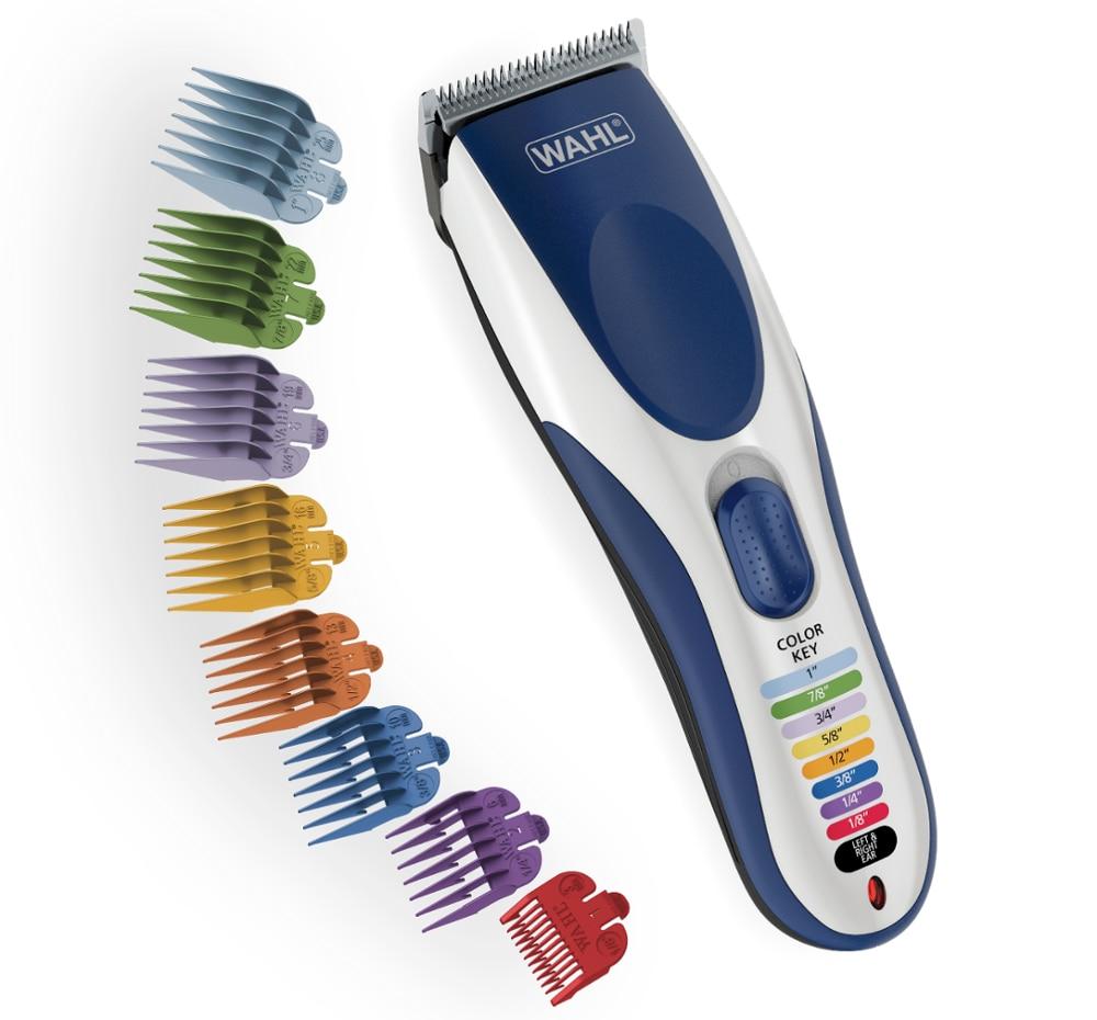 WAHL Model 9649 Color Pro - Cordless Hair Cut Machine Kit, Cordless Hair Clipper, 21 Piece Hair Cutting Kit, Shaver