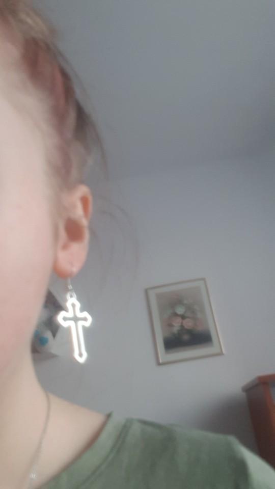 Cross Shape Earrings photo review