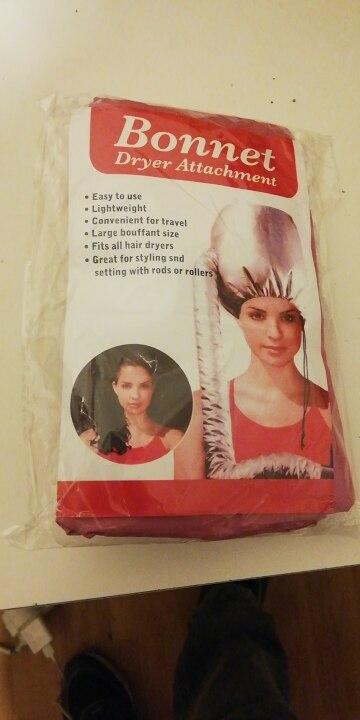 Bonnet de séchage de cheveux