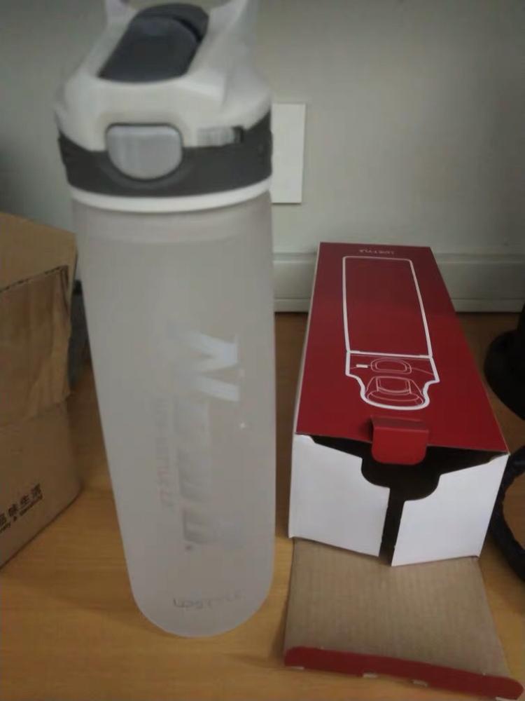 750/600ML Outdoor Travel Portable Drinkware Tritan Plastic Whey Protein Powder Sport Shaker Bottle For Water Bottles With Straw|Water Bottles|   - AliExpress