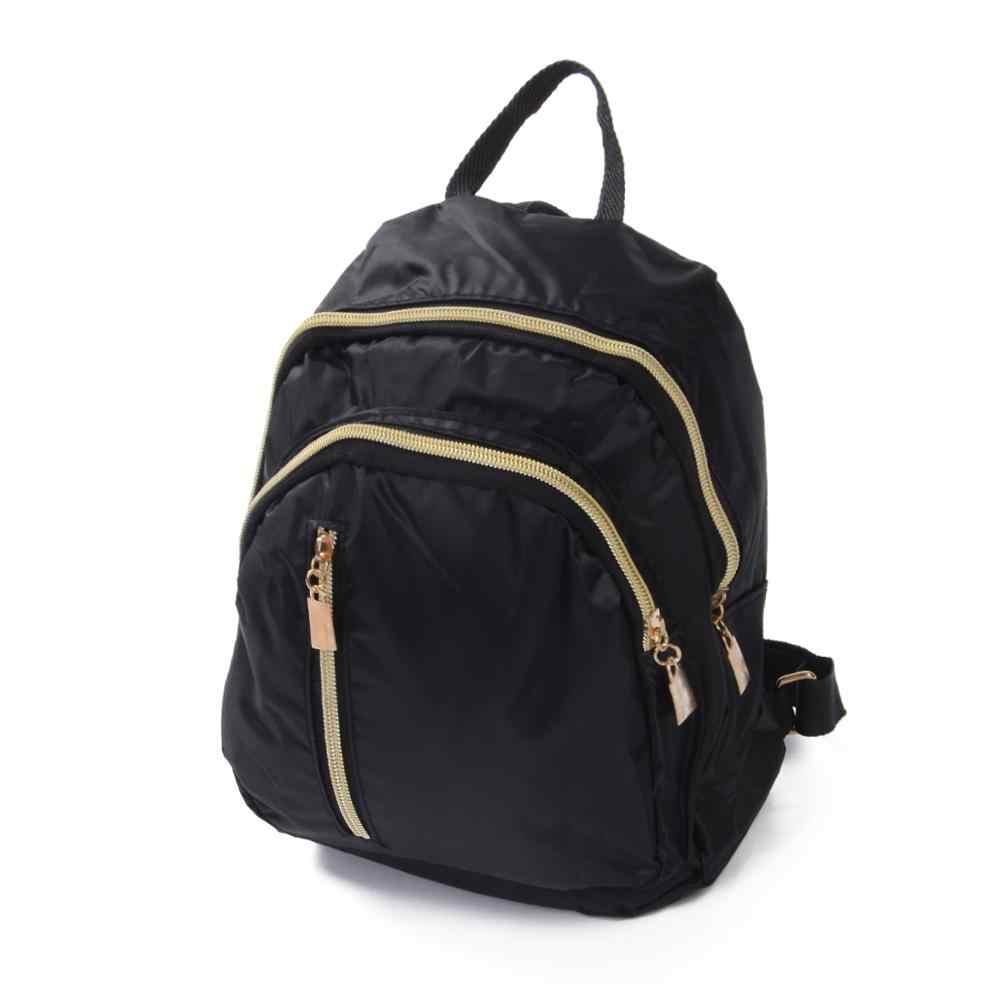 Rahat Oxford sırt çantası kadın siyah su geçirmez naylon okul çantaları genç kızlar için yüksek kaliteli seyahat Tote sırt çantası omuzdan askili çanta