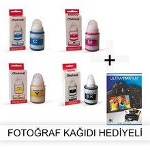 Canon G3410 1 garnitur tusz fotograficzny-papier fotograficzny na prezent tanie tanio Photoink