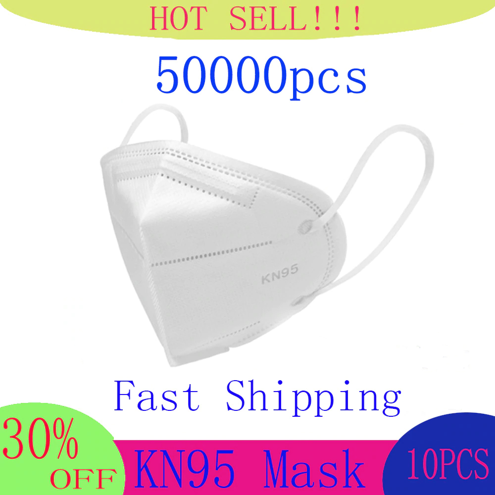KN95 6 Layers Mask Bacteria Proof Anti Infection Face Masks Mask Particulate Mouth Respirator Anti PM2.5 Safety KN95 Dust Mask