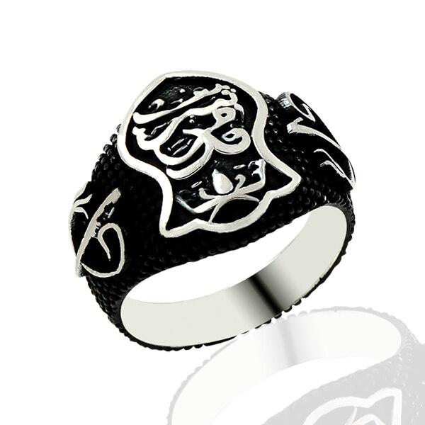 925 Silver Ottoman Men Ring Resurrection Rings for Man