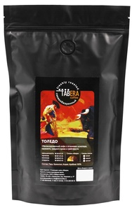 Свежеобжаренный tamer Toledo coffee in beans, 500g