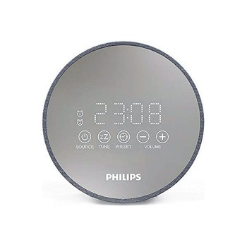 Clock-Radio Philips TADR402/12 FM Grey фото