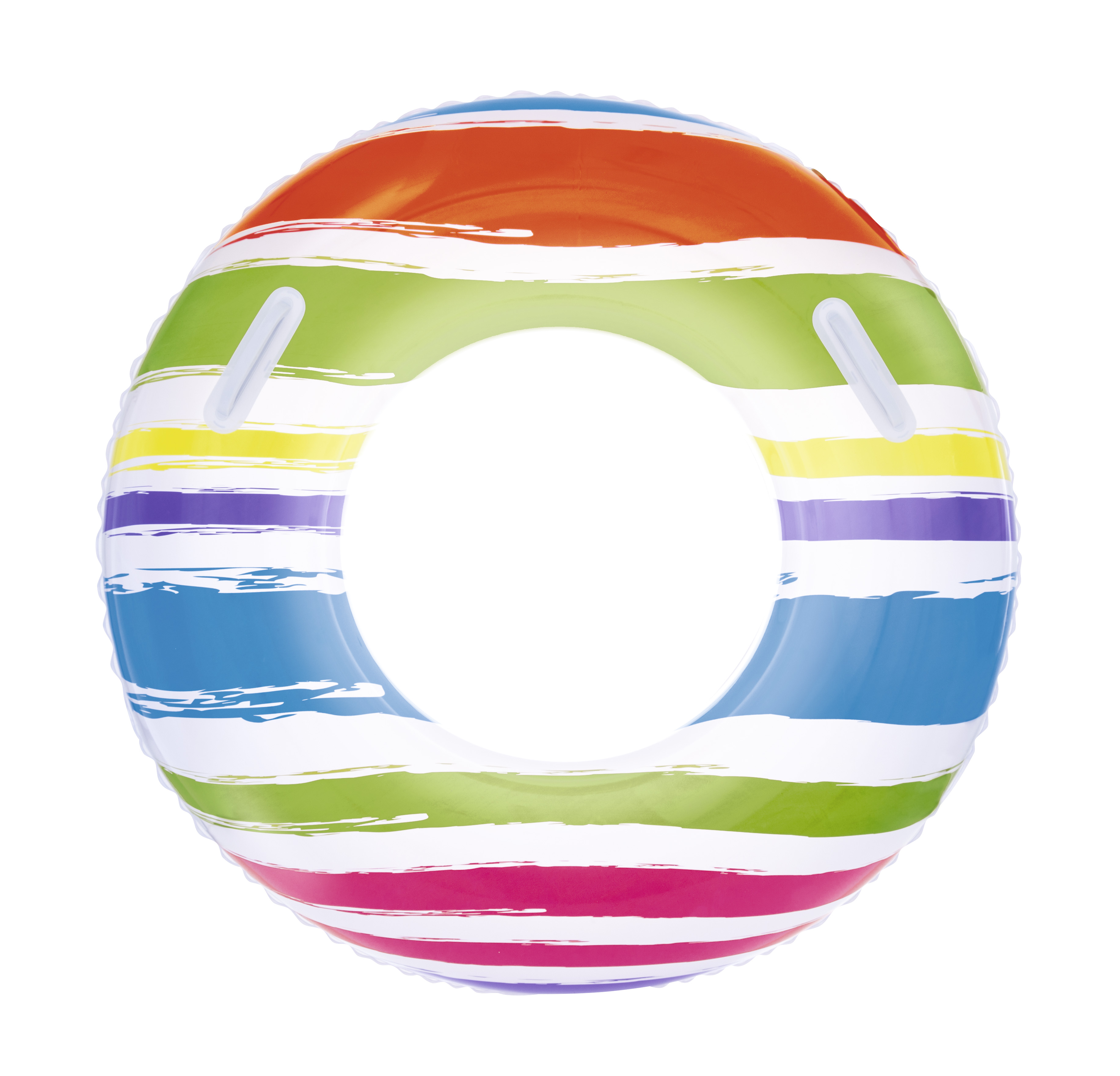 Inflatable Circle Swimming 91 Cm, From 10 Years, With Handles,