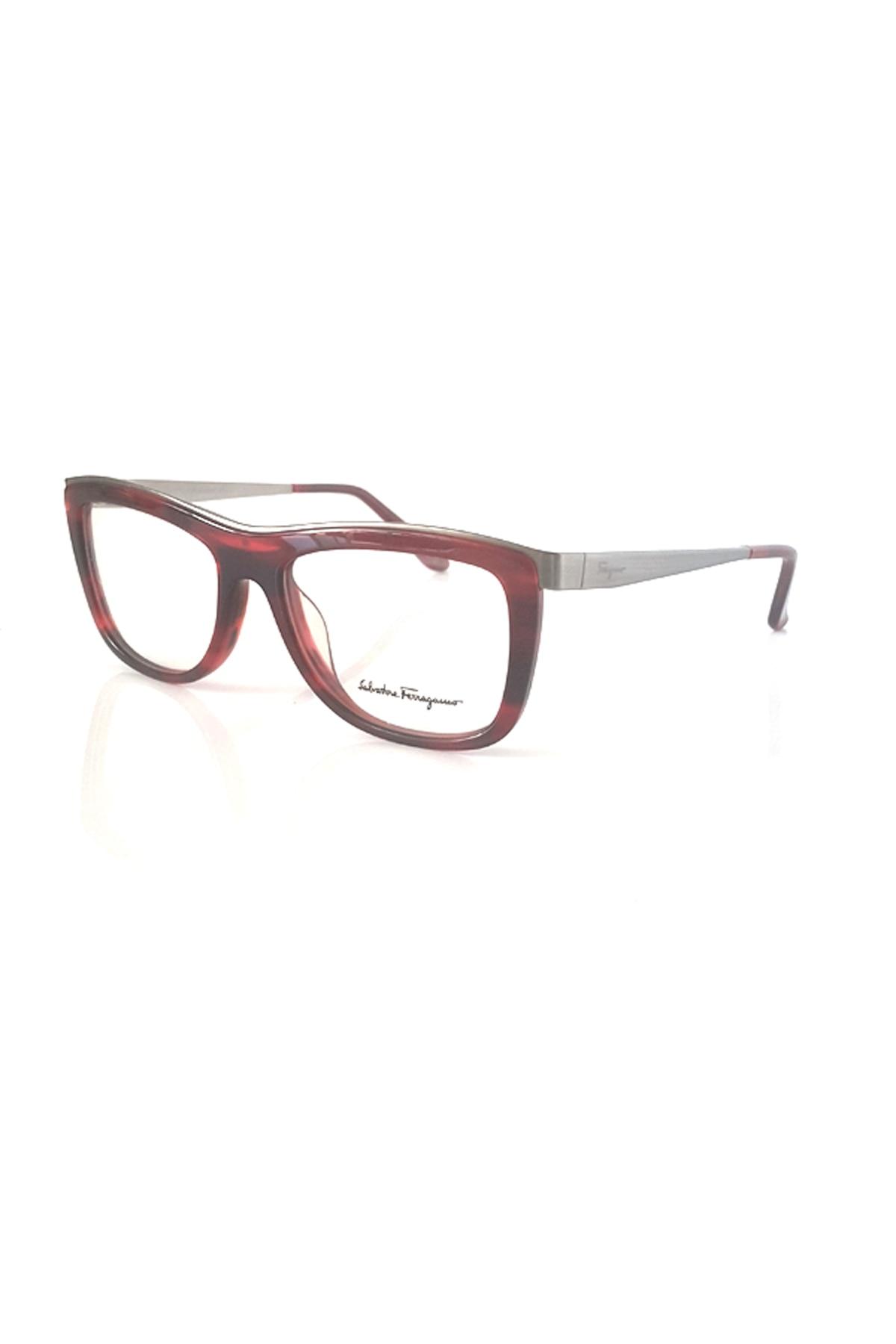 Markamilla Women Reading Glasses Frame Demo Glasses Eyewear Transparent High Quality WomenSalvatore Ferragamo SF 2626 608
