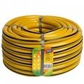 Manguera de поливочный гидроагрегат X1 20mm 25 m amarillo con negro de la raya (поливочные mangueras de PVC)