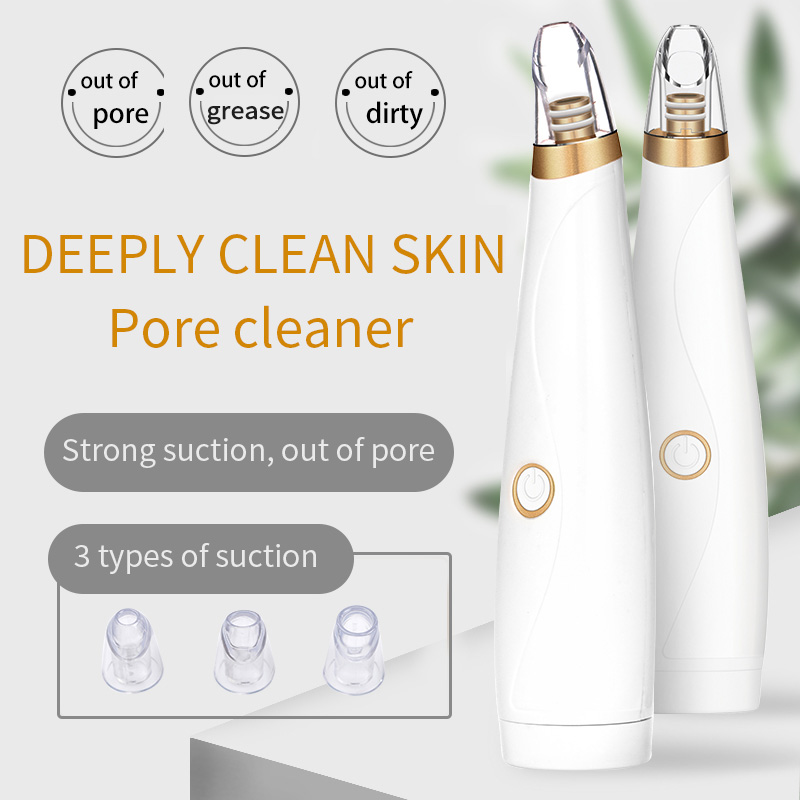 Blackhead Remover Face Deep Pore Cleaner Acne Pimple Removal Vacuum Suction Facial SPA Diamond Beauty Care Tool Skin Care Beauty