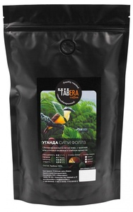 Свежеобжаренный coffee Uganda Sipi Falls organic (under filter) in grains, 200g
