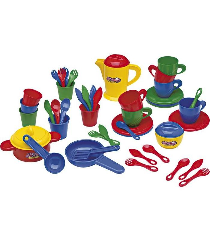 Food Set For Kitchen 45P Toy Store