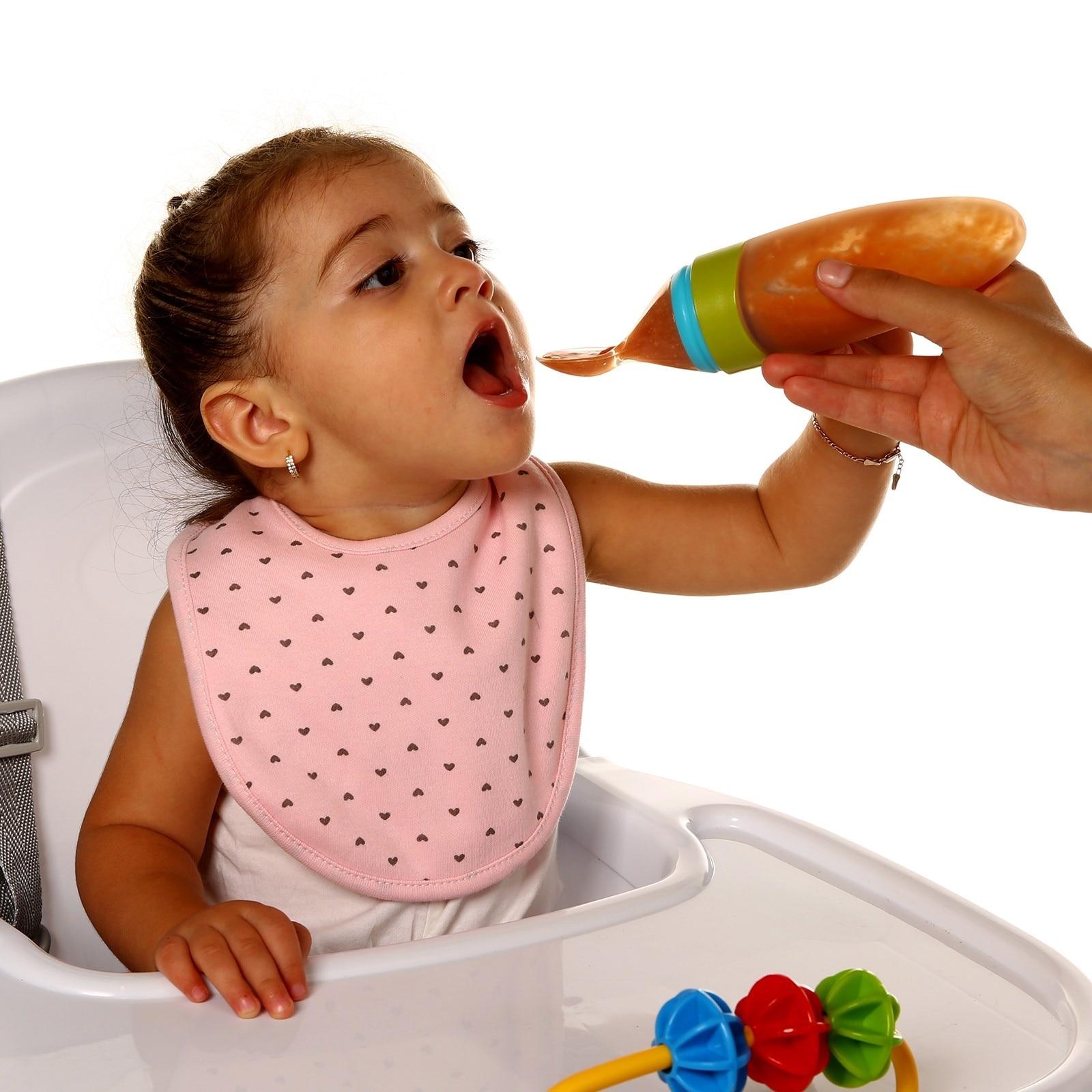 Ebebek Baby&plus Silicon Squeezing Spoon