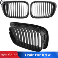 Vehemo 2017 New Color Front Bumper Wide Hood Grille For BMW E39 525 528 530 535 M5 1997 2003 High Quality Car styling