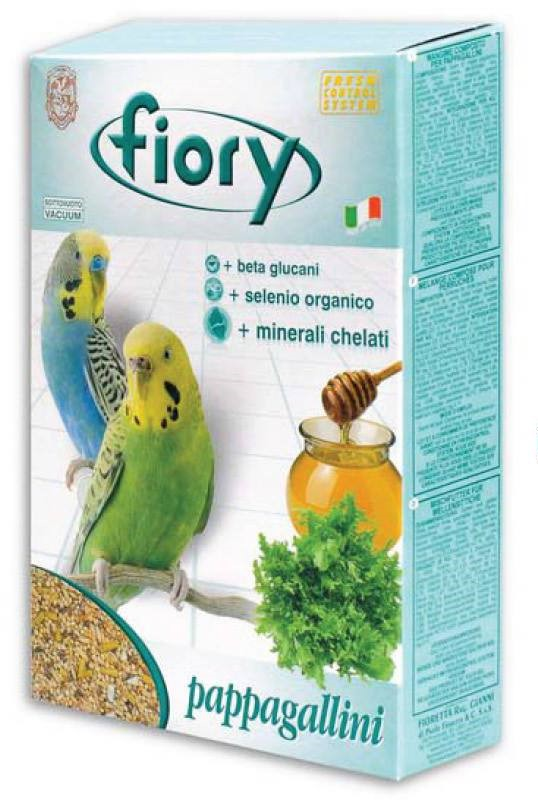 Fiory Food For Wavy Parrots, Cereal Assorted, 1 Kg.