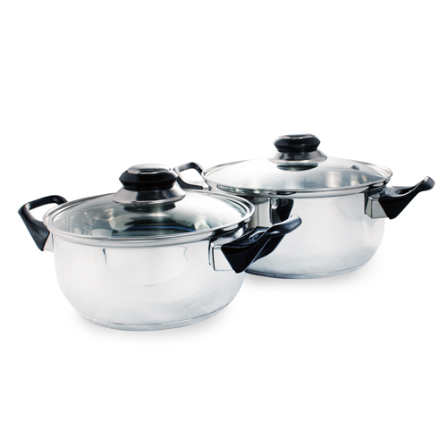 Stainless Steel Cookware (12 pieces) - 4