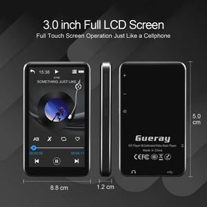 Image 2 - Lecteur MP3 à écran tactile avec haut parleur intégré Bluetooth lecteur de musique Radio HiFi 8 go baladeur hi res Audio E Book
