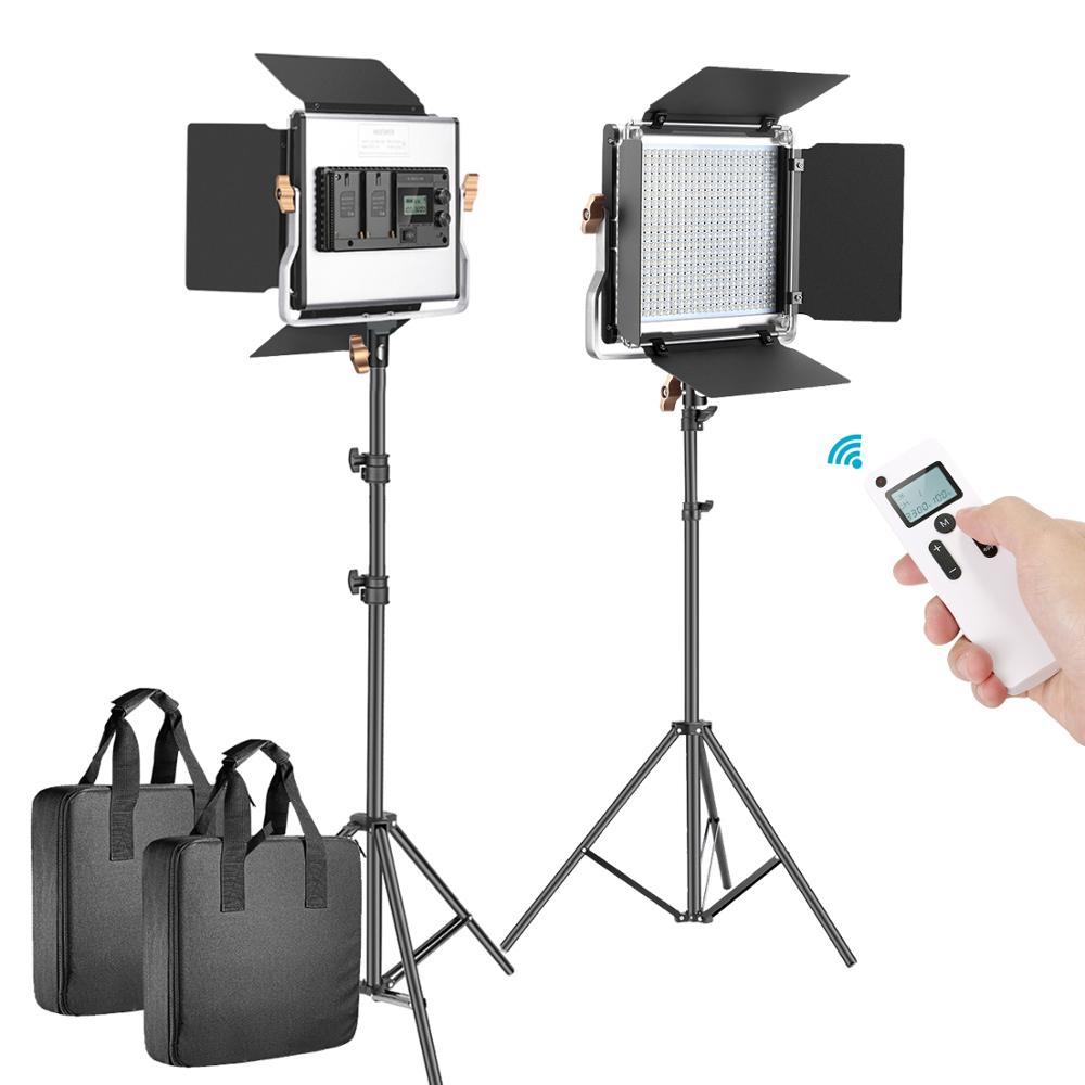 Купить neewer 2 комплекта усовершенствованный 24g светодиодный светильник