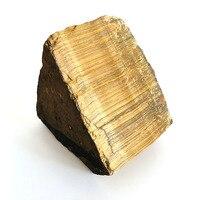 Natural Tiger Eye Stone Raw Gemstone Rock Minerale Rough Quartz Pyramid Gem Guardian Fossil Healing Crystal Chakra Spirit Gift