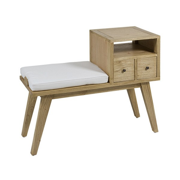 Bench Mindi Wood Plywood (95 X 40 X 77 Cm)