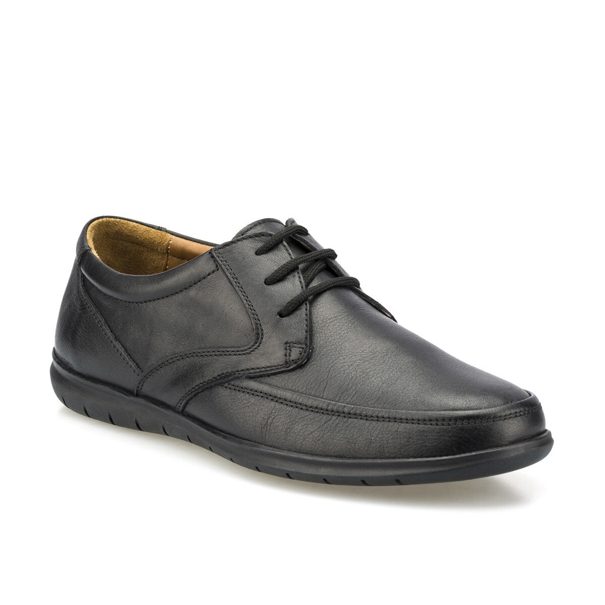 FLO 102061.M Black Men 'S Classic Shoes Polaris 5 Point