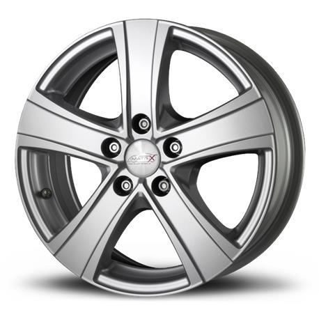RIMS Fuoco 5 Van Silver MATRIX 6.50x16 5X108 ET35 bushing 65.1|Tire Accessories|Automobiles & Motorcycles - title=