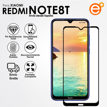 Full Tempered Glass Screen Protector for Xiaomi Redmi Note 8T Protection glass Protection for Smartphone 1