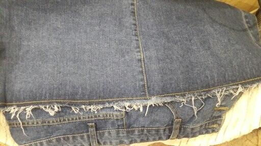 Button Front Midi Denim Skirt For Women Casual High Waist Fray Hem With Pocket Knee Length Jeans Skirt Female * photo review