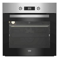 Pyrolytic Oven BEKO BIM21302XP 71 L 2500W A Black|Ovens|Home Appliances -