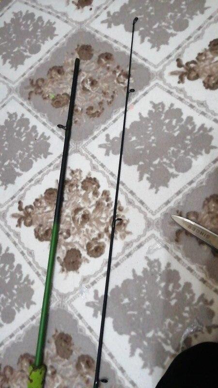 Varas de pescar Carbono Molinete Arremesso