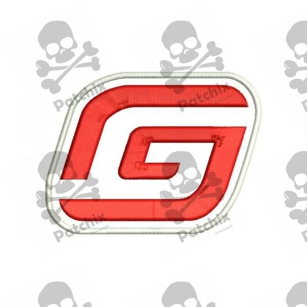 GAS GAS MOTORCYCLE Parche Bordado, Iron Patch, Gestickter Patch, Patch Brode, Remendo Bordado, Toppa Ricamata