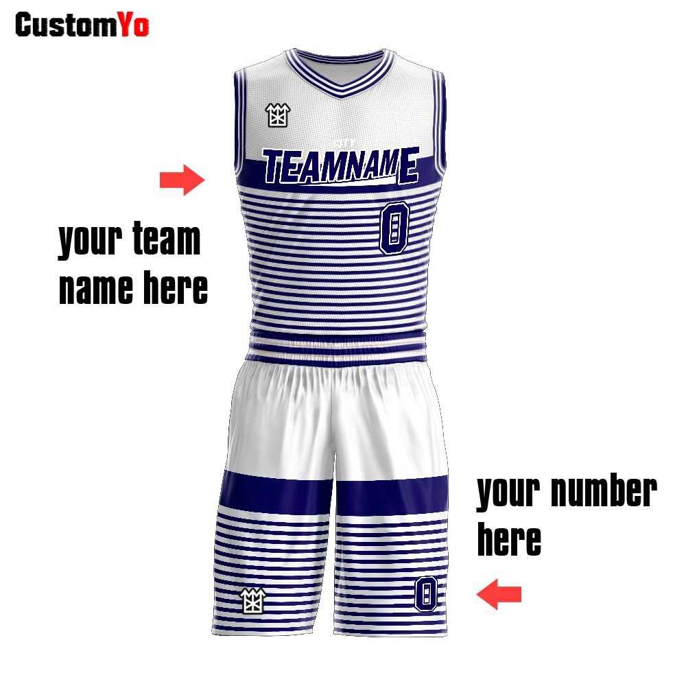 M-W Sports Custom Club Best Reversible Design Sublimation Youth Basketball Jersey